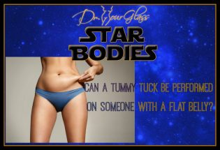 Can a tummy tuck be performed on someone with a flat belly