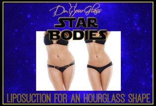 Liposuction for an hourglass shape